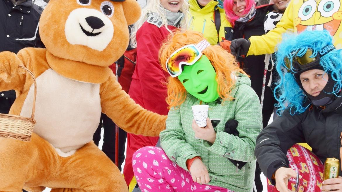 31. 12. 2018<br>NEW YEAR'S EVE CARNIVAL IN THE CHILDREN'S SKI NURSERY