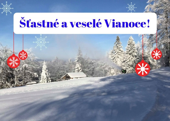 Šťastné a veselé Vianoce Vám praje Snowparadise rodina!