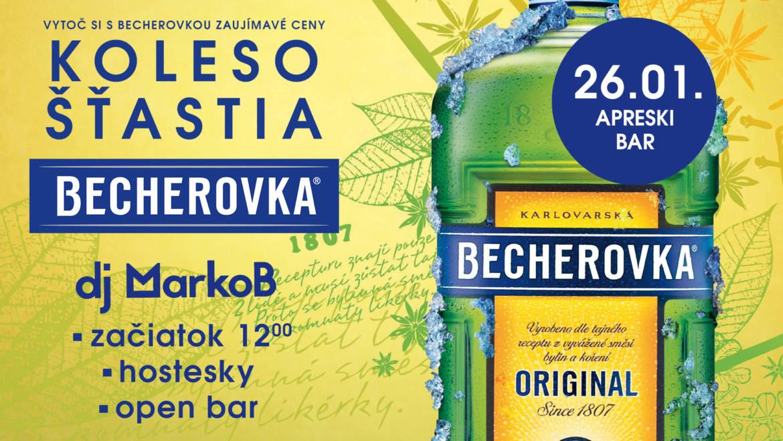 26. 1. 2019<br>RATRAK PÁRTY s Becherovkou