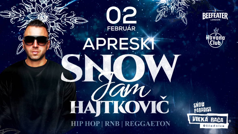 2.2.2019<br>APRESKI SNOW JAM & DJ Hajtkovič