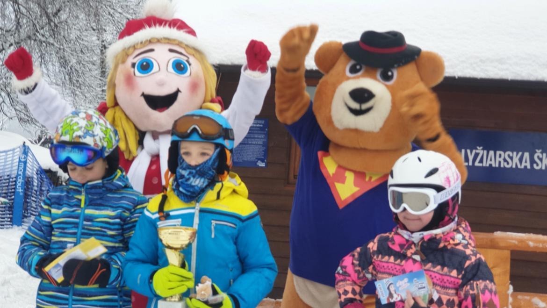 5.1.2019<br>Detský rozprávkový slalom O pohár Macka Račka