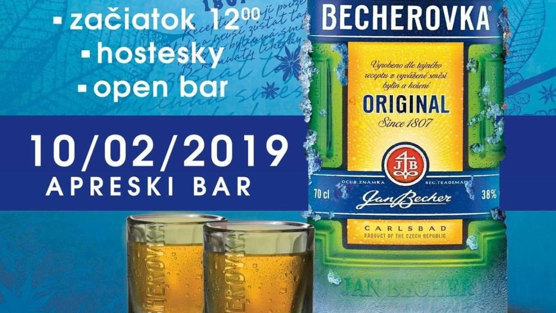 10. 2. 2019<br>Koleso šťastia s Becherovkou