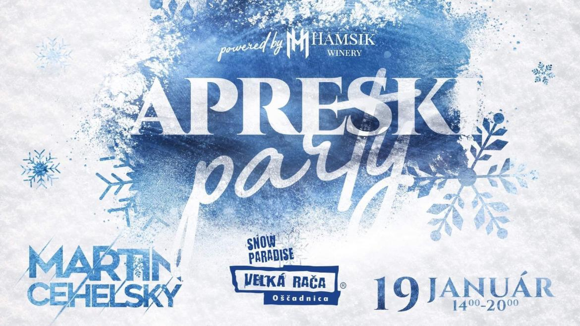 19. 1. 2019<br>APRESKI PARTY powered by Hamsik Winery