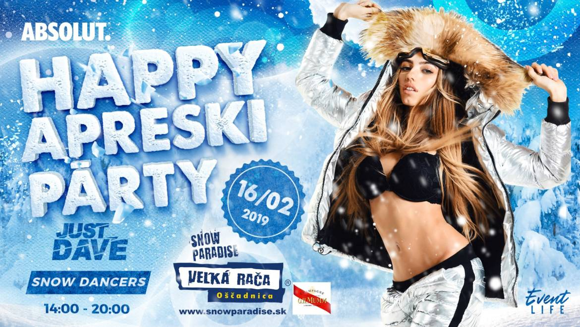 16.2.2019<br>HAPPY APRESKI PARTY