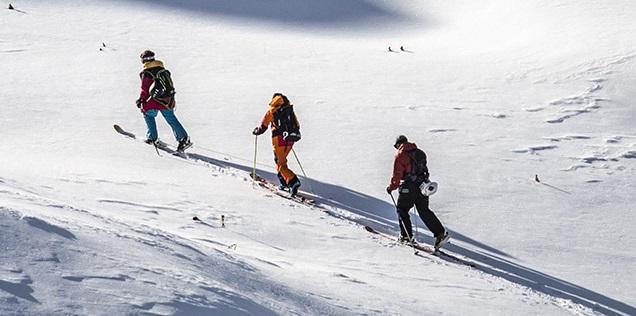 Skialpinizmus v lyžiarskom stredisku Snowparadise