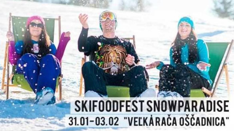 31.1.-3.2.2019<br>SkiFoodFest na Veľkej Rači