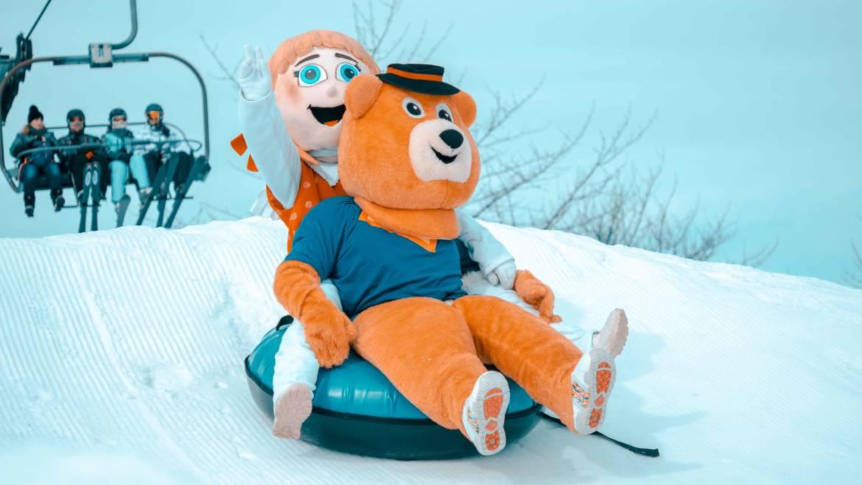 Snowtubing- novinka v detskej lyžiarskej škôlke
