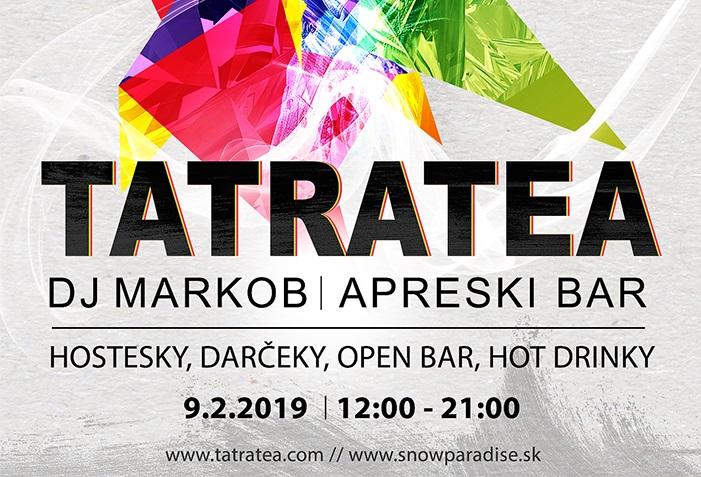 9.2.2019<br>RATRAK PÁRTY s Tatratea