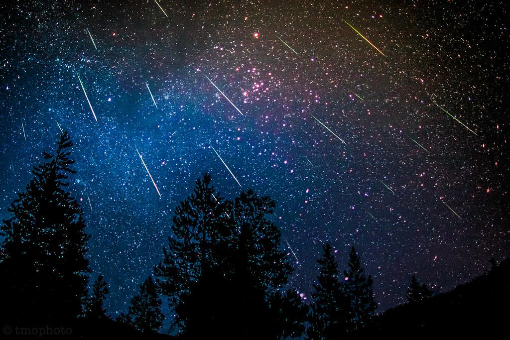 9.8.2019<br>Večerné pozorovanie meteorického roja Perzeíd