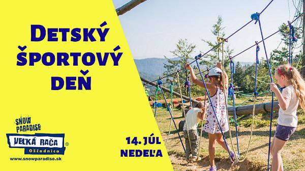 """14.7.2019<br>Akcia zrušená- Detský športový deň """"Pohybom k zdraviu"""""""