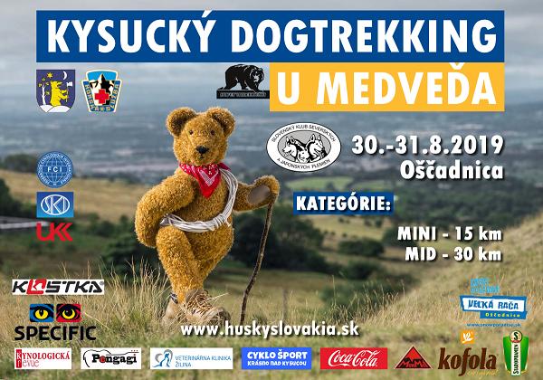 30.-31.8.2019<br>Kysucký dogtrekking