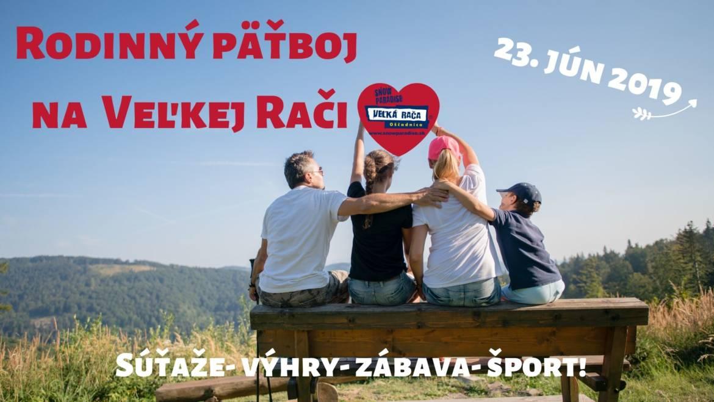 23.6.2019<br>Kysucký rodinný päťboj- Akcia zrušená kvôli nepriaznivému počasiu!