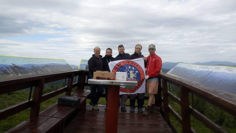 Nová panoramatická kamera na vrchole Veľkej Rače v 1236 m n.m.