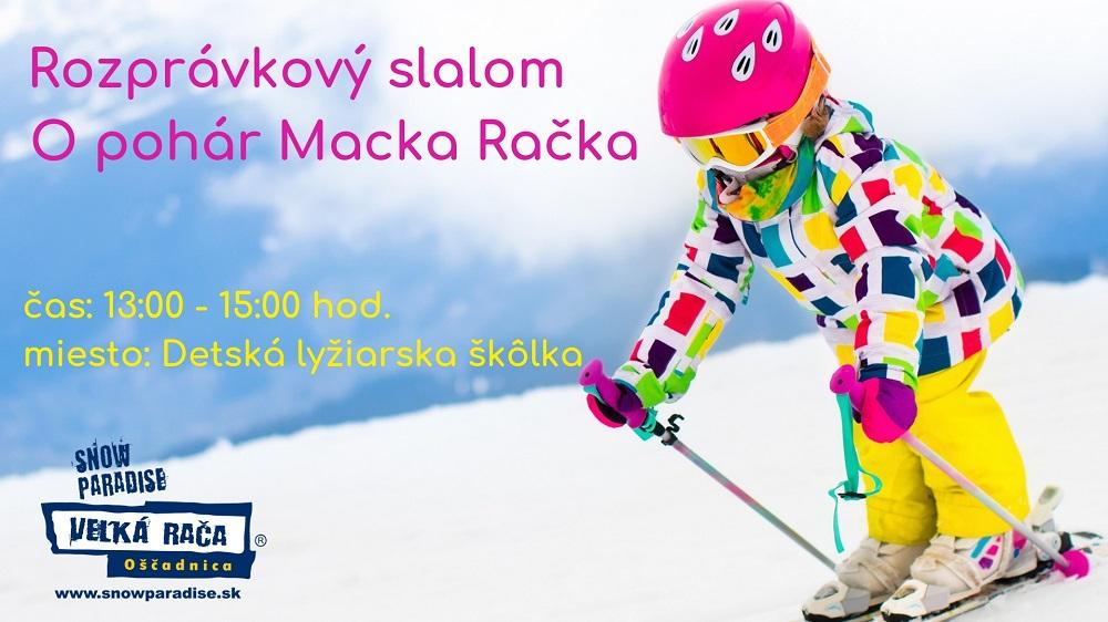 22.2.2020<br>Rozprávkový slalom O pohár Macka Račka