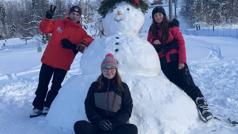 28.12.2019<br>Súťaž v stavaní snehuliakov