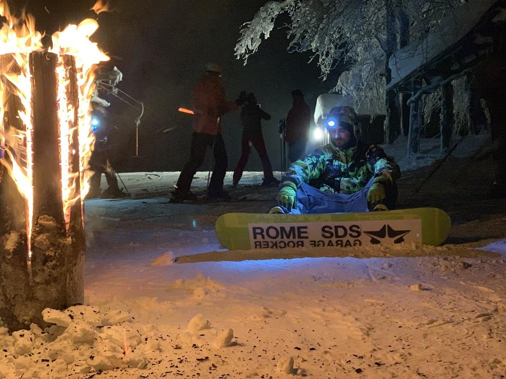 10.1.2020<br>Večerná lyžovačka s čelovkami