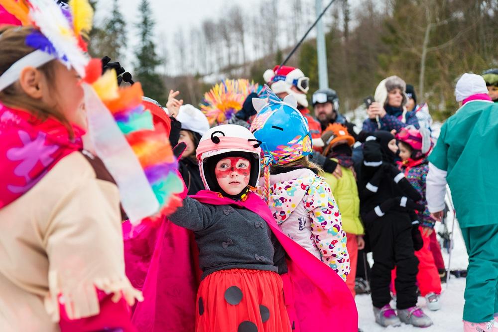 31.12.2019<br>Silvestrovský karneval v lyžiarskej škôlke