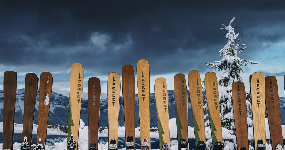 4.-5.1.2020<br>Testovanie lyží Forest Ski