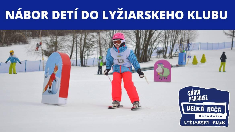 Stále prebieha nábor detí do lyžiarskeho klubu