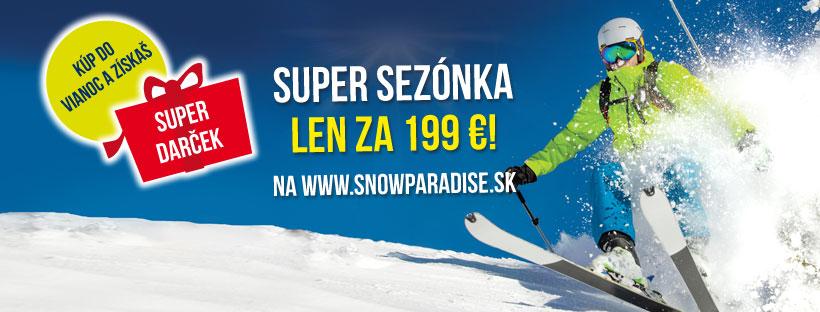 Online predaj sezónnych skipasov 2019/2020 spustený!