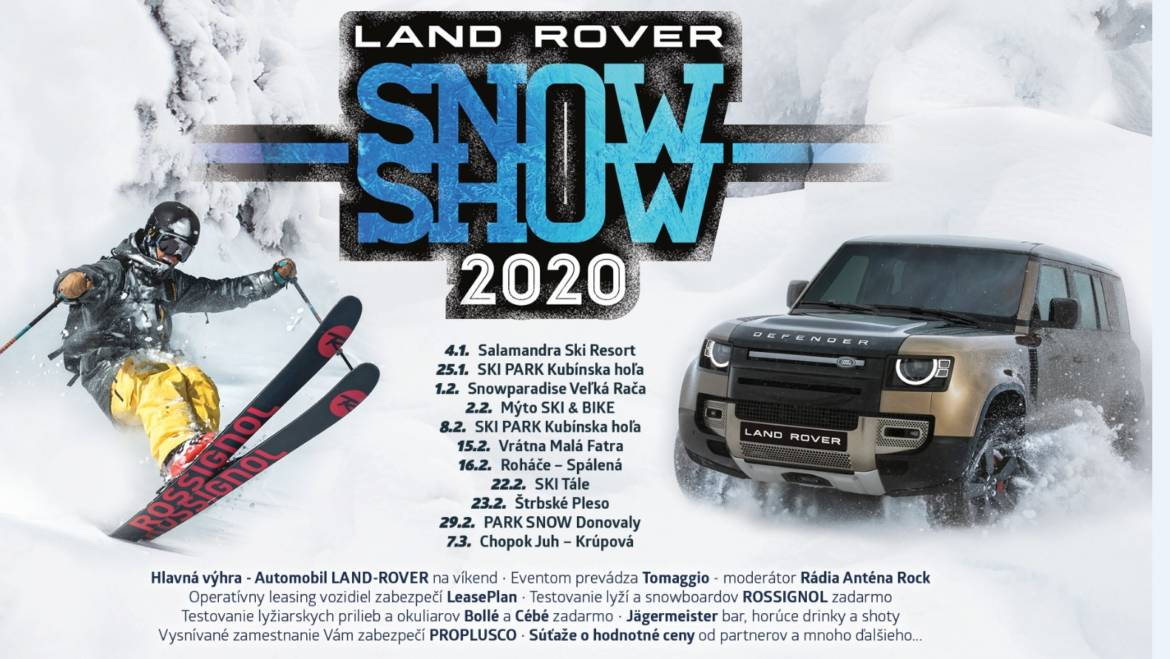1.2.2020<br>LAND ROVER SNOW SHOW 2020