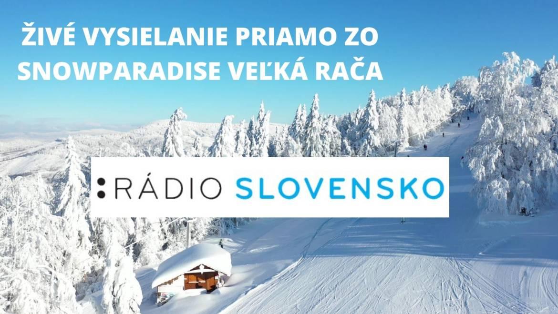 21.2.2020<br>Živé vysielanie rádia Slovensko priamo z Dedovky