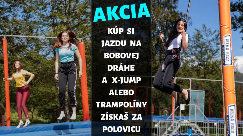 AKCIA na lístky na X-jump a detské trampolíny