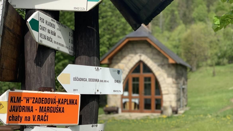 Spoznajte kaplnky, ktoré sa nachádzajú v stredisku a jeho okolí