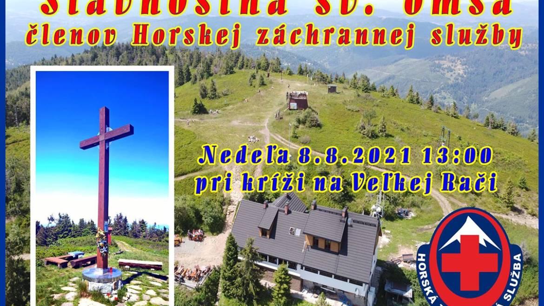 Slávnostná svätá omša členov Horskej záchrannej služby
