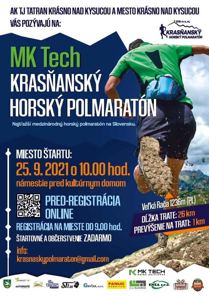 Informácie k horskému polmaratónu